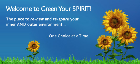Welcome to Green Your SPIRIT