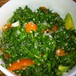 Rawkin' Tabouleh Salad With Avocado